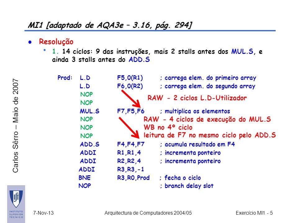 MI1 [adaptado de AQA3e – 3.16, pág. 294]